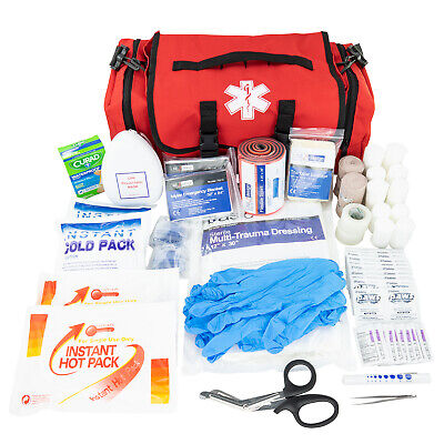 LINE2design First Aid Kit - EMS EMT Emergency Rescue Trauma First Responder Bag