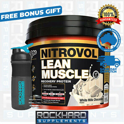 BSC Nitrovol Lean Muscle Protein Powder Mass Weight Gainer Muscle Builder