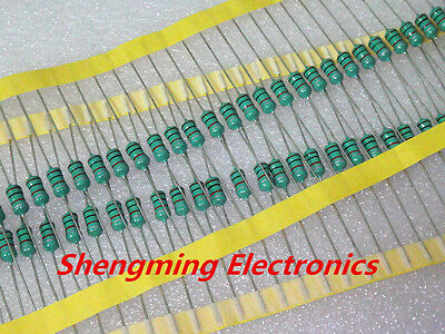 50PCS 0410 Color Ring Inductance 470uH 0.5W Axial RF Choke Coil Inductor