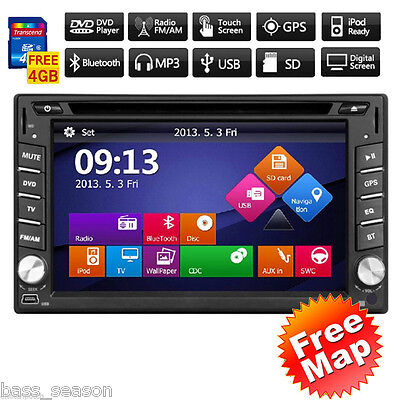 2 Din Car dvd player GPS audio Radio stereo for Nissan x-trail pc navigation