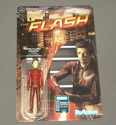 The Flash TV Series ReAction Figure - The Flash Unmasked Summer Convention Excl