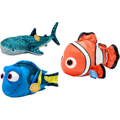 Disney Finding Dory Plush with Sound Choice of Characters One Supplied NEW