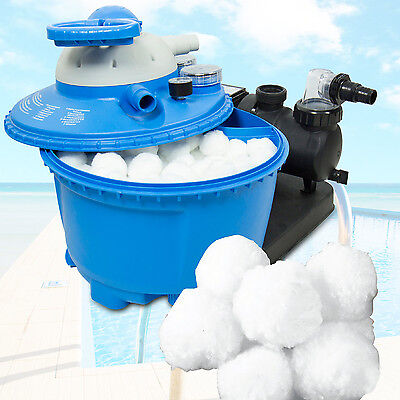 Filter Balls 700g für sandfilter alternativ zu 25 kg Filtersand Quarzsand Pool