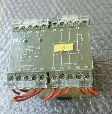 Pilz Pnoz 1 3S/10 475600 Safety Relay 24V
