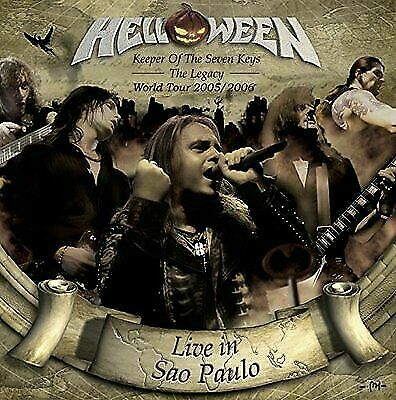 Helloween - Keeper Of The Seven Keys: The Legacy World Tour New Cd