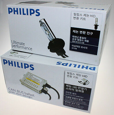 Philips Superslim 35w 6000k HID Xenon Canbus conversion kit Brandnew H4 type !!