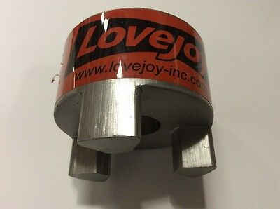 Lovejoy 35686 Size L100 Standard Jaw Coupling Hub, Sintered Iron, Inch, 0.875 Br