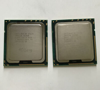 PAIR of 2Intel Xeon X5675 3,06 GHz 6-Core 12M Prozessor SLBYL Sockel 1366 CPU