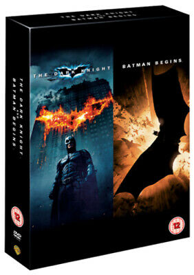 Batman Begins/The Dark Knight DVD (2012) Christian Bale
