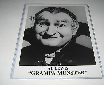 The Munsters Al Lewis Grampa Munster Press Photo B/W 8 x 10