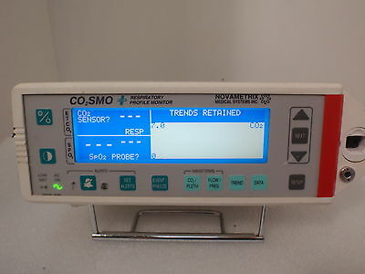Novametrix CO2SMO 8100 Patient Puls Display