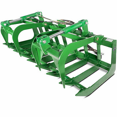 "Titan Attachments 72"" John Deere Root Grapple Bucket Tractor Loader"