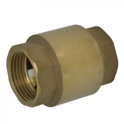 "1/2"" Spring Loaded Check IPS Threaded Valve - Lead Free"