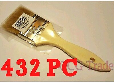 Bulk 432 of 2 Inch Chip Brush Disposable for Adhesives Paint Touchups Glue 2""