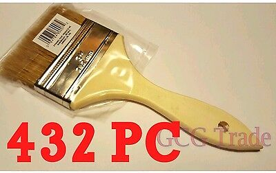 Bulk 432 of 3 Inch Chip Brush Disposable for Adhesives Paint Touchups Glue 3""