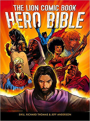 The Lion Comic Book Hero Bible, New, Richard Thomas Book