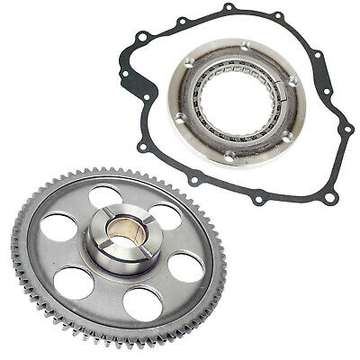 Starter Clutch & Gear Idler & Gasket Fit Yamaha Grizzly 660 Yfm660 4X4 2003-2008