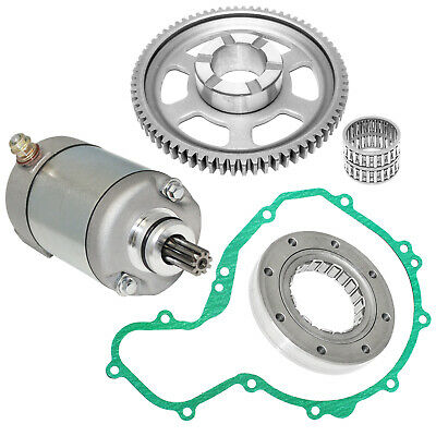 Starter & Starter Clutch & Gear Idler Fit Polaris Predator 500 2003-2007