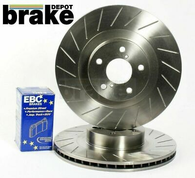 Civic Type R Ep3 Fn2 Front Evora Brake Discs and Mintex Pads Performance Grooved