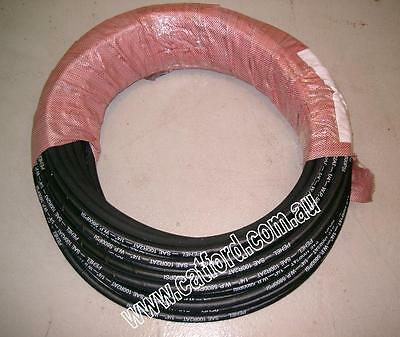 "Hydraulic Hose 1/4"" Two Wire Braid 5800 PSI 106 Metres"
