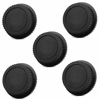 5pcs Rear Lens Cap Cover for Canon EOS Rebel EFS EF EF-S mount EF lens DSLR SLR