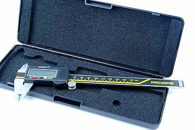"Proops 6"" 150mm Digital LCD Caliper Vernier Gauge Micrometer. D8020"