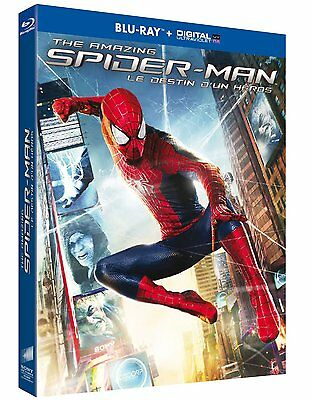 BLU RAY + DIGITAL UV * THE AMAZING SPIDER-MAN, Le destin d'un héros * NEUF