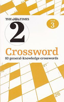 The Times Quick Crossword Book 3: 80 General Knowledge Puzzles New Book
