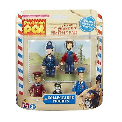 Postman Pat Pack of 5 Collectible Articulated Mini Figures Toy 3+