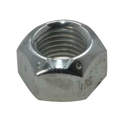 "Pack Size 20 Zinc Plated Conelock 1/4"" UNF Imperial Fine Grade C Nut"