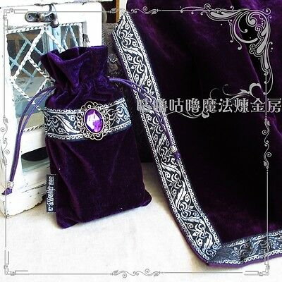 Altar Tarot Tablecloth Table Cloth Velvet Decor Divination Cards Wicca Tapestry