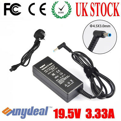 For Hp Pavilion Envy Beats Audio Laptop Blue Tip Pin Charger Power Supply 19.5v