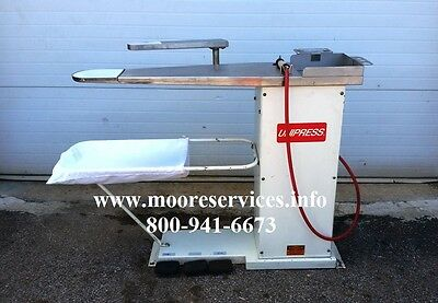 Unipress SST Steam Spotting Table Dry Cleaning Laundry Equipment