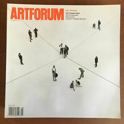 Artforum n° 1 September 2007 Cover Bruce Nauman - E21655