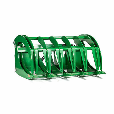 "Titan 60"" HD Root Grapple Rake Attachment fits John Deere Loaders"