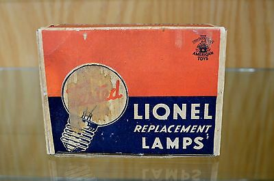 Lionel 28-3 Lamp Box - Holds 12 Lamps - Box ONLY - Standard Gauge