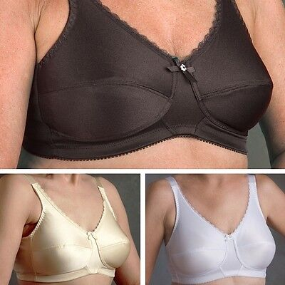 4ab90247331e5 Nearly Me Post Mastectomy Bra Style  630 Plain Soft Cup Bra Many Sizes    Colors