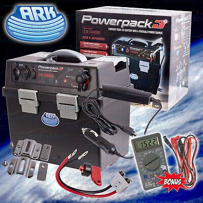 Ark Da15 Battery Box Portable Powerpack 12V Deep Cycle Dual System + Projecta B