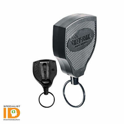 S48K by Key-Bak - Super 48 Heavy Duty Retractable Key Reel with Kevlar Cord