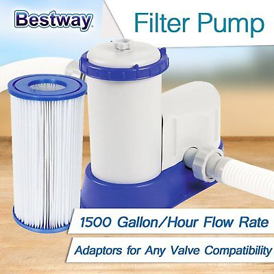 New Bestway Filter Pump 58122 Cartridge Replacement Pack Swimming Pool