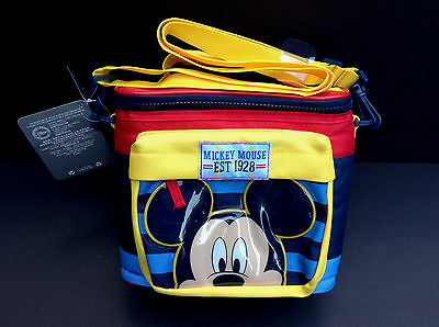 DISNEY Store MICKEY MOUSE LUNCH BOX Tote INSULATED School 2016 NWT