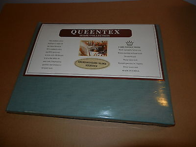 QUEENTEX HomeColection King size Bed Box Pleated Valance