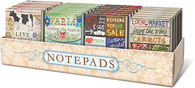 Punch Studio Farm To Table Pocket Note Pads Various Designs
