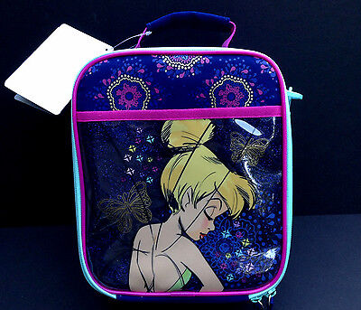 DISNEY Store TINKER BELL LUNCH BOX Tote INSULATED School 2016 NWT