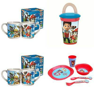 Paw Patrol Cups, Mugs & Cutlery Sets