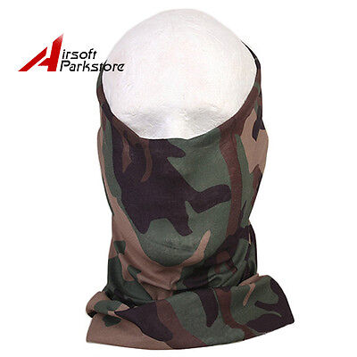 Emerson Tactical Hunting Quick Dry Half Face Mask Scarf Outdoor Woodland Camo