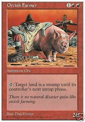 Orco Contadino - Orcish Farmer MTG MAGIC 5E Eng