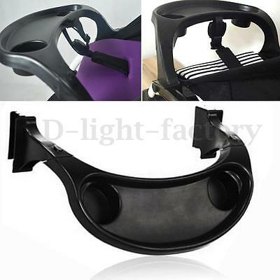 Generic Baby Child Stroller Tray Cup Food Holder Removable Trolley Fence Feed