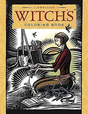 Llewellyn's Witch's Coloring Book!