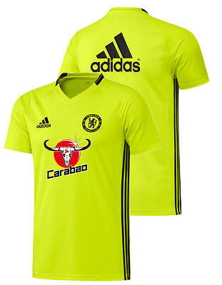 Chelsea London Fc Adidas Training Trikot Gelb 2016 17 Adizero
